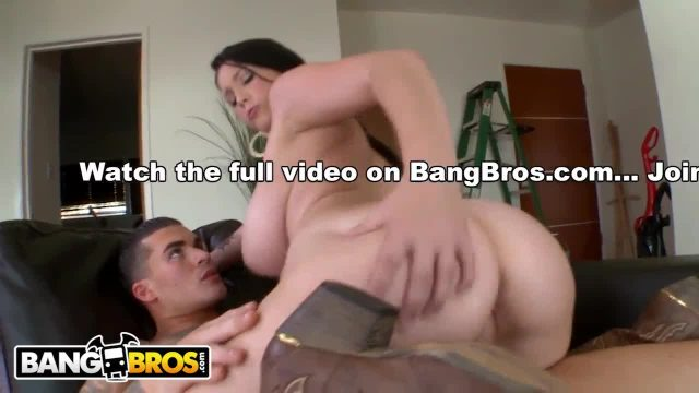 Bangbros - teen noelle easton shows off her big natural 38 triple d tits